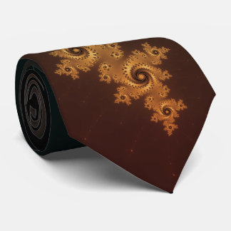 Tarnished Copper Tie