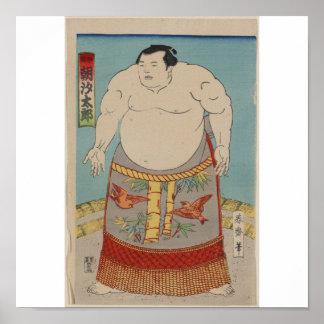 Taro de Asashio - 1868 Póster
