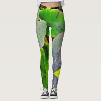 Taro Patch Leggings