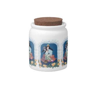 Tarot Ace of Coins/Pentacles Candy Jars