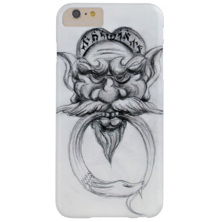 TAROT/ANTIQUE FANTASY GROTESQUE MASK Black White Barely There iPhone 6 Plus Case