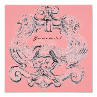 TAROT/ ANTIQUE FLORENTINE GROTESQUE FANTASY CARD