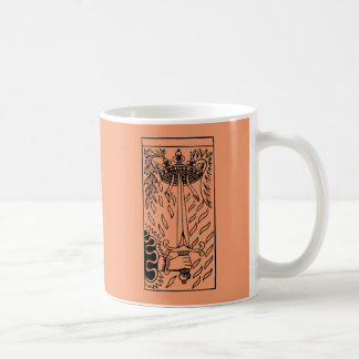 Tarot Card: Ace Of Swords Coffee Mug