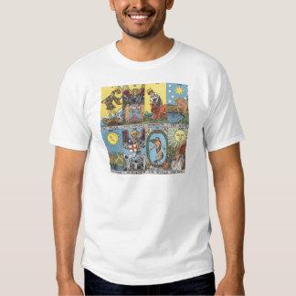 Tarot Card Collage Tee Shirt
