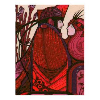 TAROT CARD DESIGN THE LOVERS