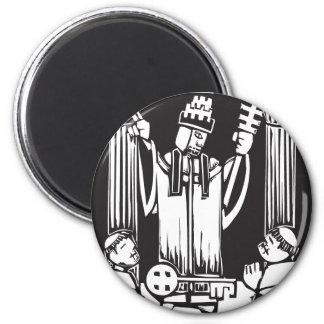 Tarot Card Hierophant Magnet