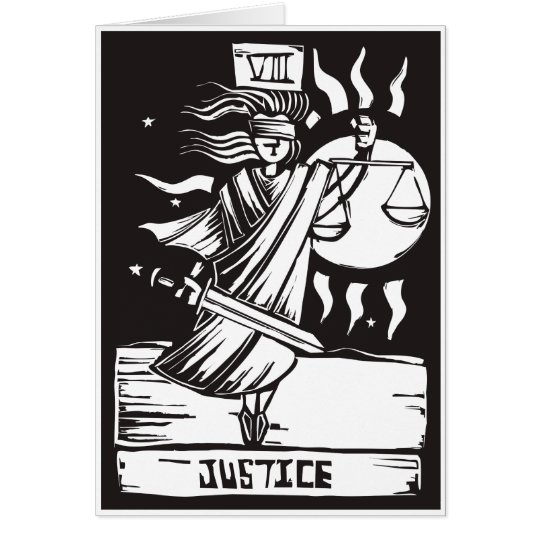 Tarot Card Justice