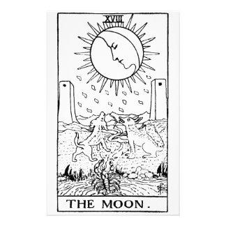 Tarot card 'moon'