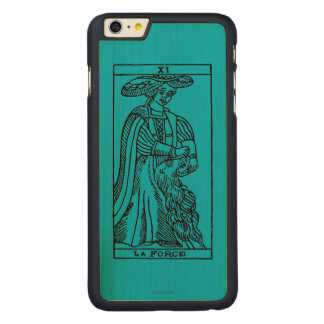 Tarot Card: Strength Carved Maple iPhone 6 Plus Slim Case
