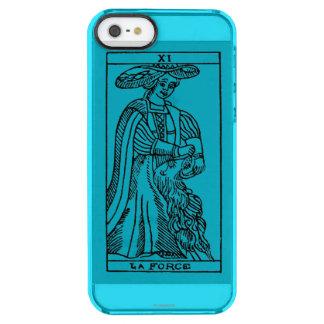 Tarot Card: Strength Clear iPhone SE/5/5s Case