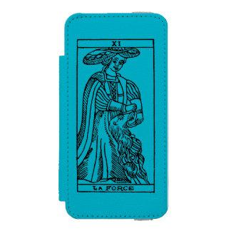 Tarot Card: Strength iPhone SE/5/5s Wallet Case