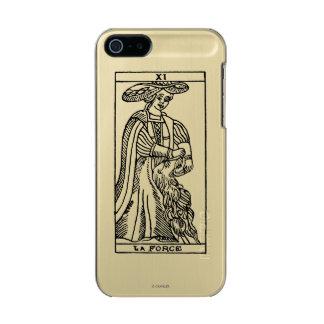Tarot Card: Strength Metallic Phone Case For iPhone SE/5/5s