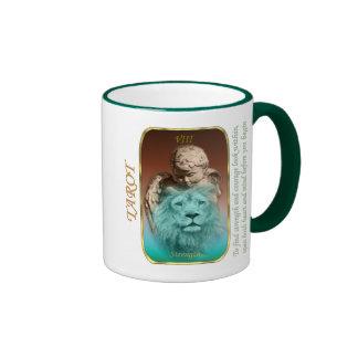 Tarot Card - Strength Ringer Mug