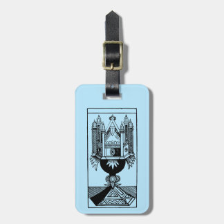 Tarot Card: The Ace Of Cups Luggage Tag
