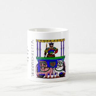 Tarot card The Chariot Classic White Coffee Mug