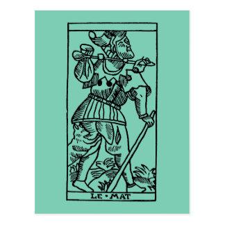 Tarot Card: The Fool Postcard