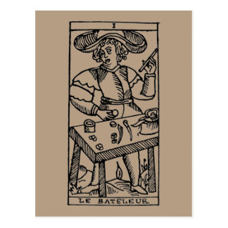 Tarot Card: The Juggler Postcard
