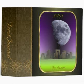 """Tarot Card - The Moon 2"""" Tarot Journal 3 Ring Binder"""
