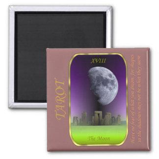 Tarot Card - The Moon Magnet