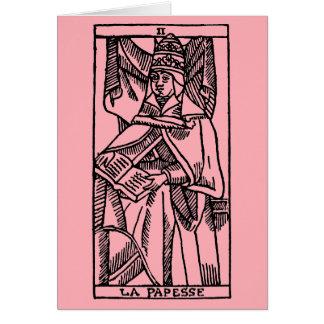Tarot Card: The Popess Card