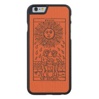 Tarot Card: The Sun Carved® Maple iPhone 6 Slim Case