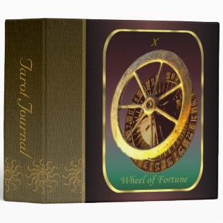 "Tarot Card - Wheel of Fortune 2"" Tarot Journal 3 Ring Binder"
