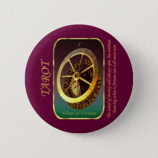 Tarot Card - Wheel of Fortune Button