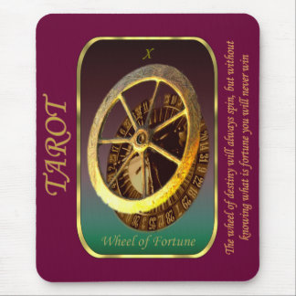 Tarot Card - Wheel of Fortune Mouse Pad
