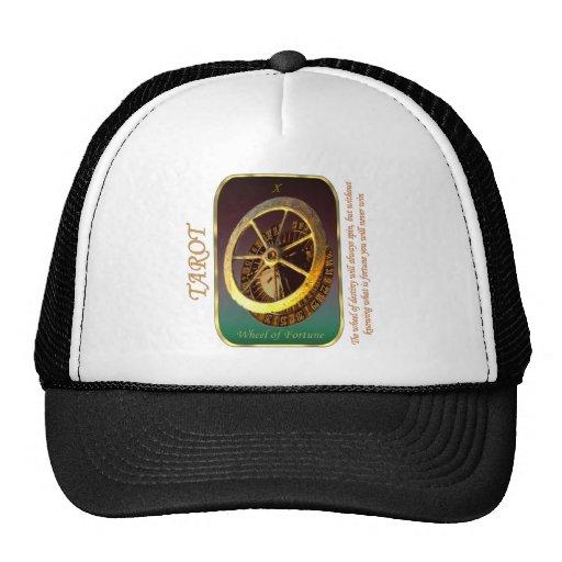 Tarot Card - Wheel of Fortune Trucker Hat