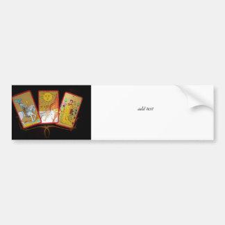 Tarot Cards (2) Car Bumper Sticker
