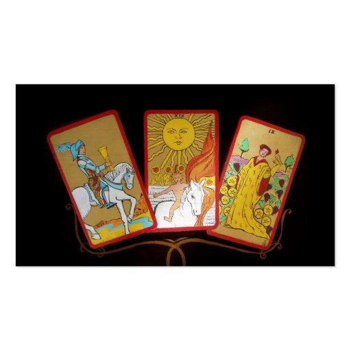 Tarot Business Card Business Card Templates BizCardStudio - Tarot card template