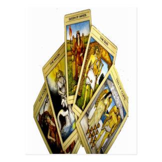 TAROT CARDS BY LIZ LOZ POST CARDS