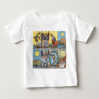 Tarot Cards Collage Baby T-Shirt