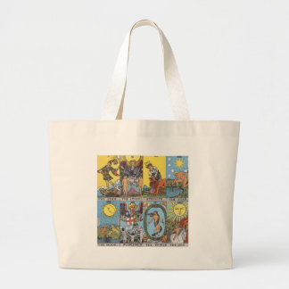 Tarot Cards Collage Large Tote Bag