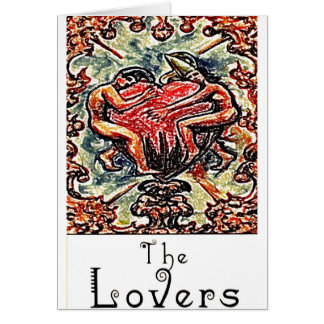 TAROT CARDS THE LOVERS