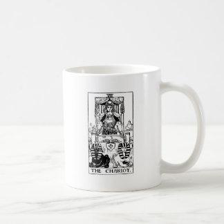 tarot 'chariot' coffee mug