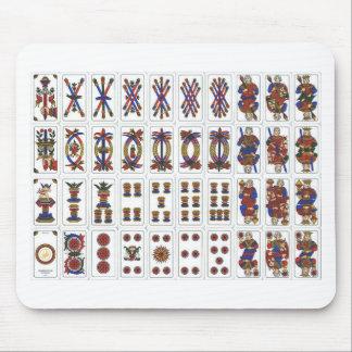 tarot de marseille mouse pad