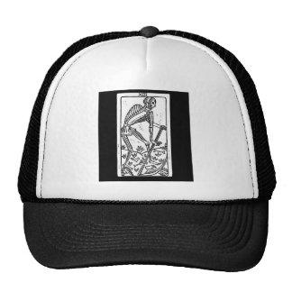 tarot death cap trucker hat