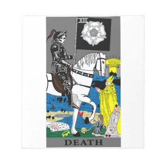 Tarot Death Card Scratch Pad