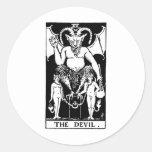 Tarot 'devil' stickers