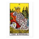 tarot-emperatriz tarjetas postales