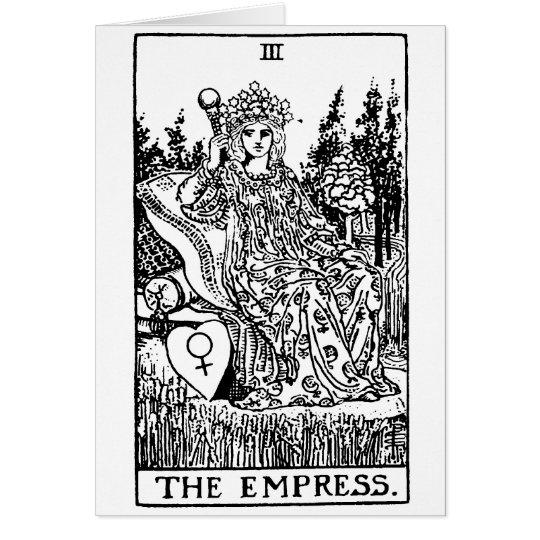 Tarot  'empress' card