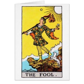 tarot-fool card