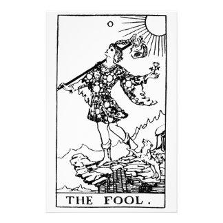 Tarot - fool stationery design
