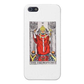 tarot-hierophant iPhone SE/5/5s cover