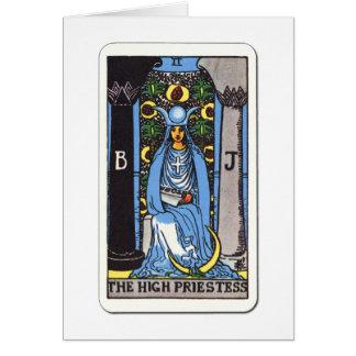 Tarot Hohepriesterin The Priestess Drogada Felicitacion