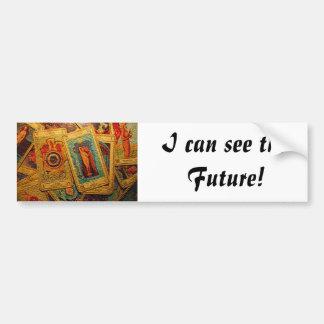 Tarot: I can see the future bumper sticker Car Bumper Sticker