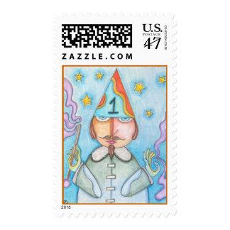 Tarot Magician Postage Stamp