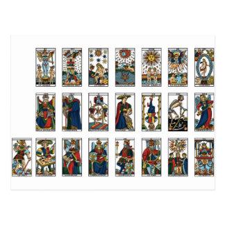 Tarot Major Arcana Postcard