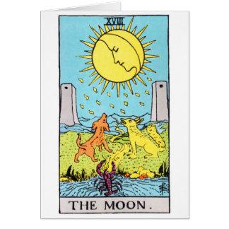 tarot-moon card